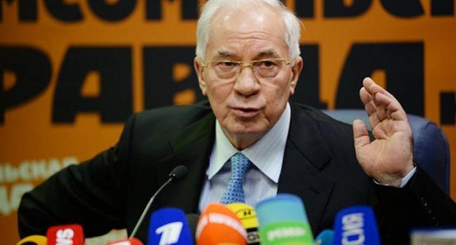 Он вас всех считает дебилами: Николай Азаров обратился к гражданам Украины
