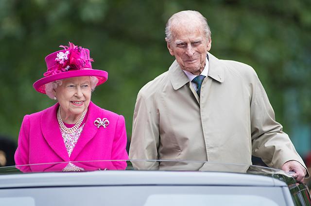 99-летний супруг королевы Елизаветы II принц Филипп госпитализирован в Лондоне