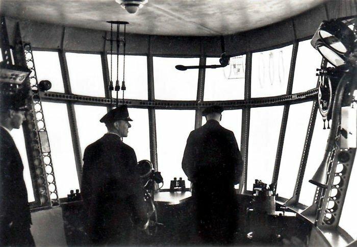 Управление дирижаблем, бортовыми приборами и средствами управления полетом Гинденбург, история, фото