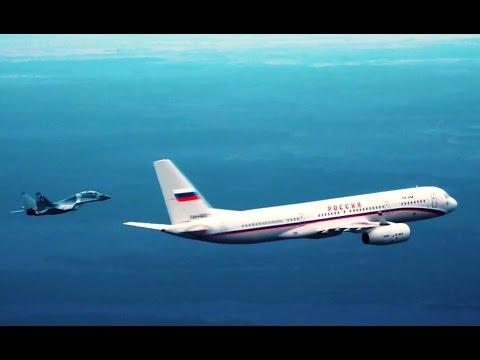 Самолет Президента. Уникальные кадры