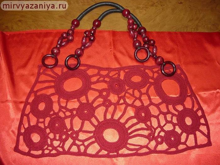 Вязаная сумка своими руками: мастер-класс вязание, своими руками