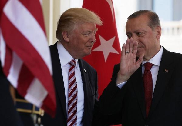 Трамп иЭрдоган обсудили вопросы региональной повестки