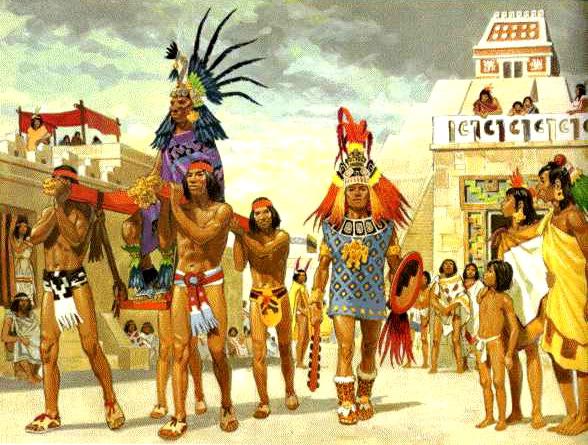 Дела давно минувших дней: исследователи установили причину гибели ацтеков