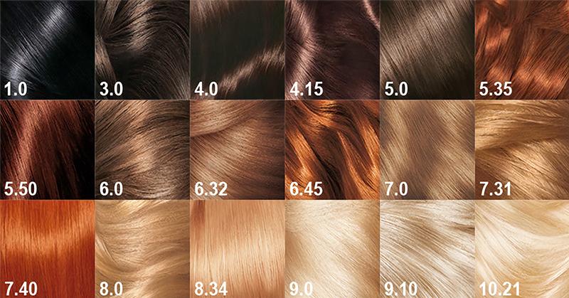 При покупке краски для волос…