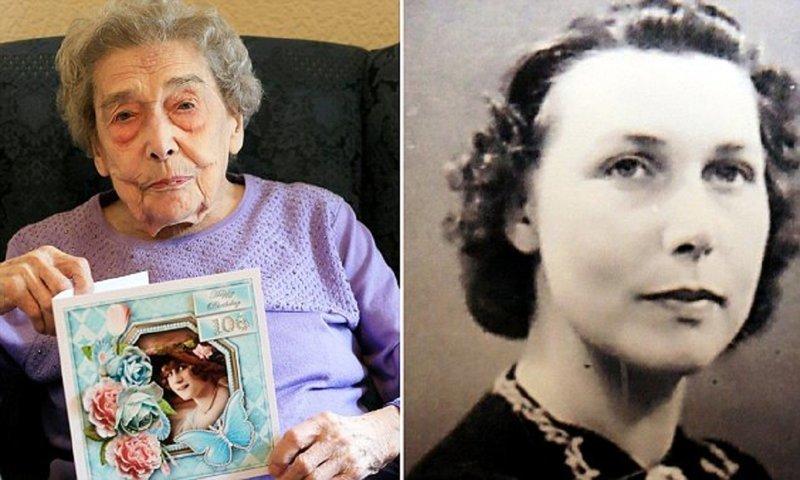 106-летняя долгожительница считает причиной своего долголетия отсутствие мужчин