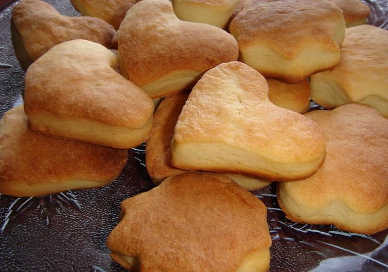 Рецепт печенья из простокваши с фото
