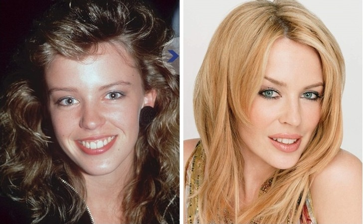 Популярные знаменитости в юности