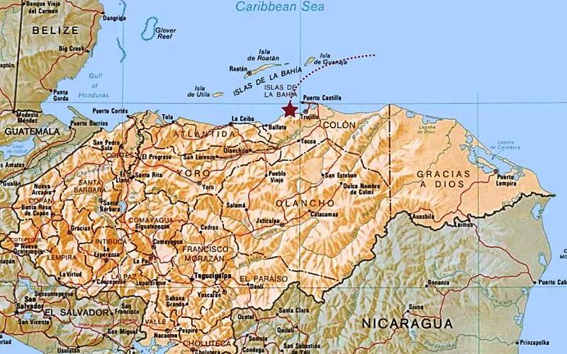 Белый город: затерянный мир нашли под джунглями Центральной Америки археология,белый город,гондурас,лидар,Пространство,цивилизация