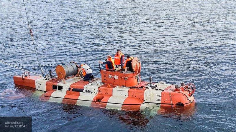Минобороны разместило видео работы группы спасательных сил Тихоокеанского флота