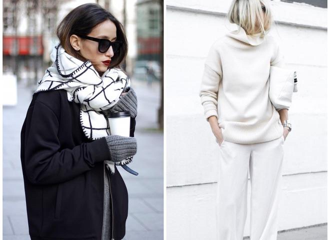 5 модных способов носить белый цвет осенью