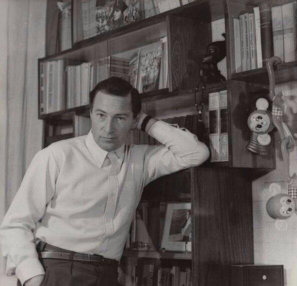 Вячеслав Тихонов Олег Мерцедин, 1960-е, МАММ/МДФ.