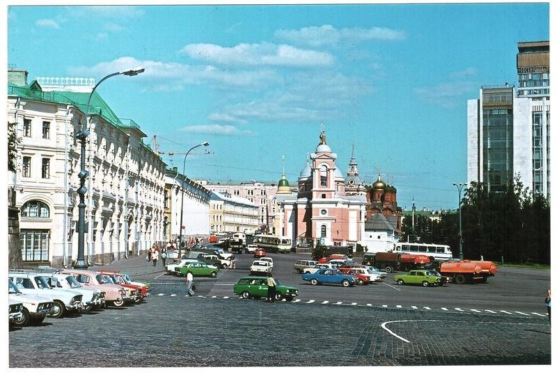 Лето 1980-го года в Москве