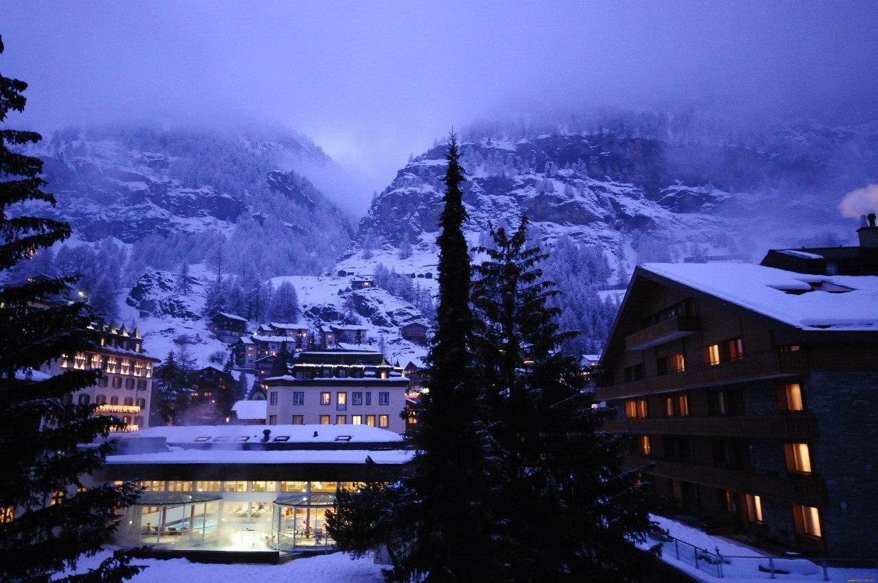 Церматт - лыжный курорт...