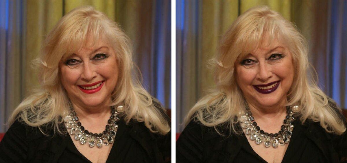 Как темная помада меняет внешность в старшем возрасте: на примере Мирошниченко, Гузеевой, Светличной