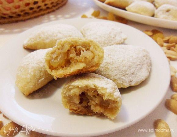 Греческие яблочные пирожки «Милопитакья» еда,пища,рецепты, выпечка