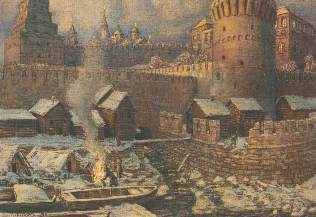 История москвы картинки
