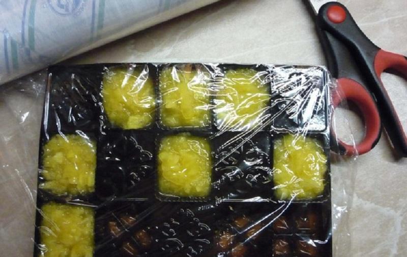 конфеты с имбирем и лимоном