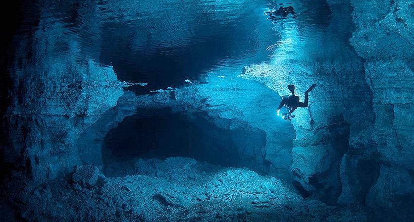 Ординская пещера на Урале: е…