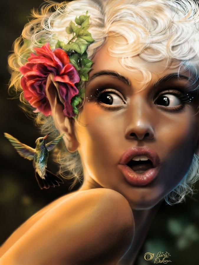 Красивое цифровое искусство от Крис де Лара (Cris De Lara)
