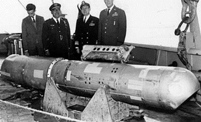 История про то, как самолет Пентагона потерял ядерную бомбу