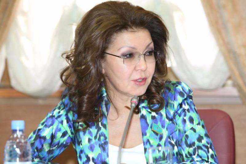 Дочь Назарбаева стала председателем Сената Казахстана новости,события, политика