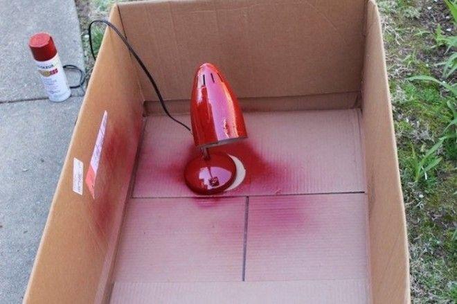 Как безопасно покрасить чтото аэрозольной краской