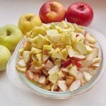 Подготовим яблоки