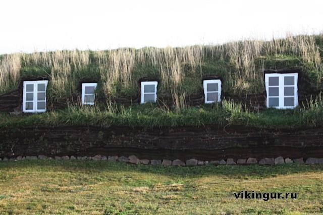 Торфяные дома Исландии