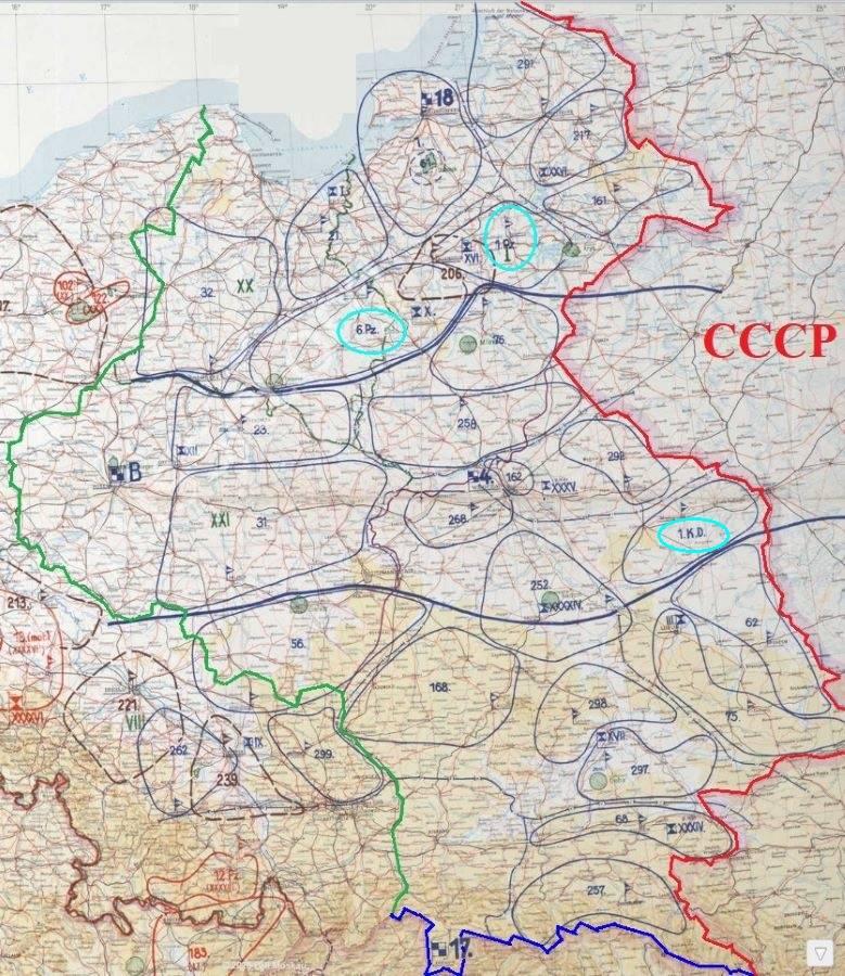 Начало сосредоточения подвижных войск вермахта у нашей границы история,разведка