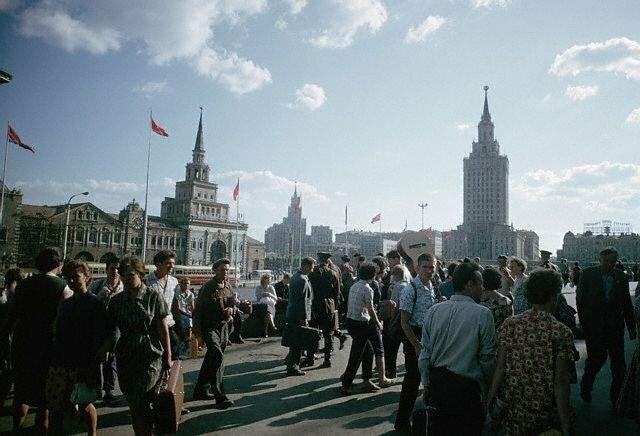 Комсомольская площадь, 1966 СССР, история, фото
