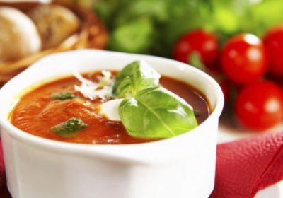 Хлебный суп с помидорчиками «Мечтая об Италии»