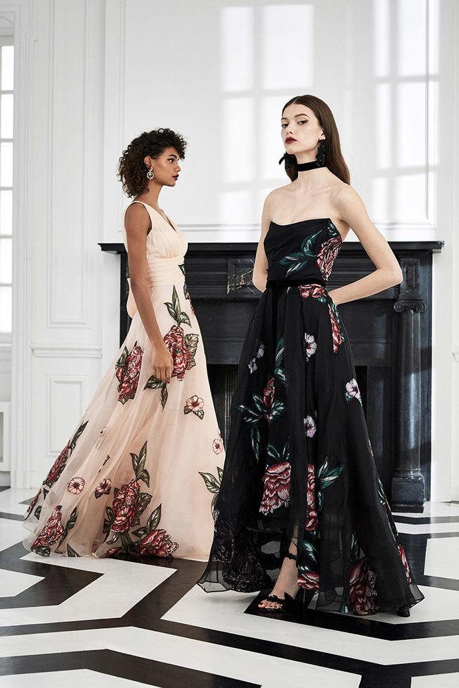 Маркиза драмы: модная коллекция Marchesa Notte осень 2019, фото № 3