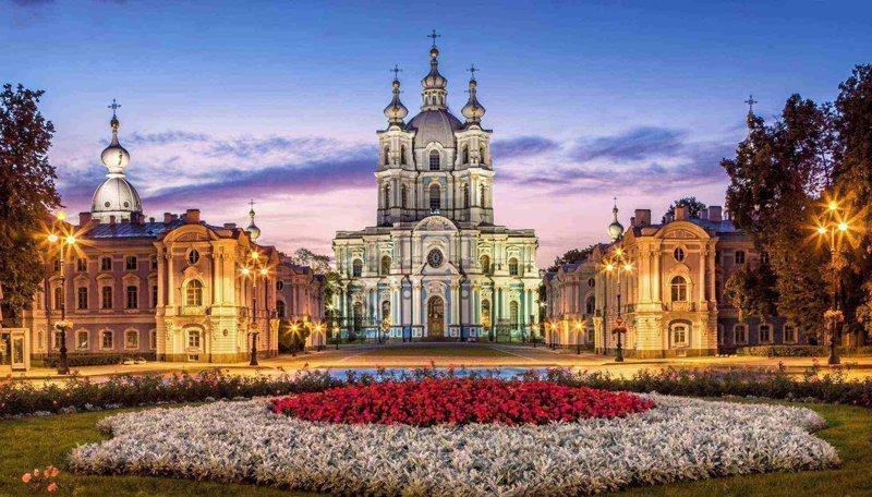 10-Смольный собор Исаакиевский собор, Самые красивые здания СПб, Санкт - Петербург