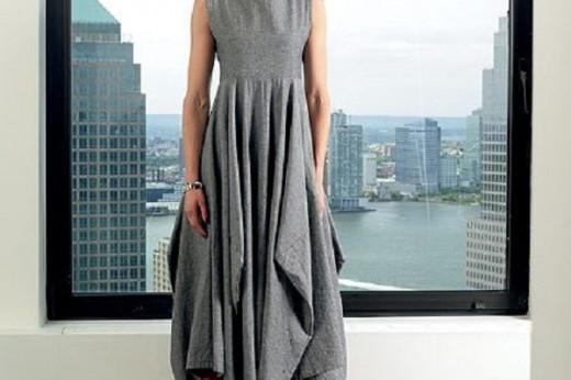 Выкройка демисезонной юбки в стиле бохо из квадрата