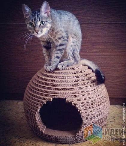 Декор это радость не только для двуногих! Даёшь дом и для хвостатых!)))