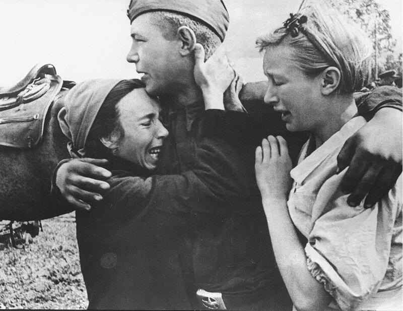 Освобождение города Карачев. 1943. #Фотографии, #история, #факты, .война
