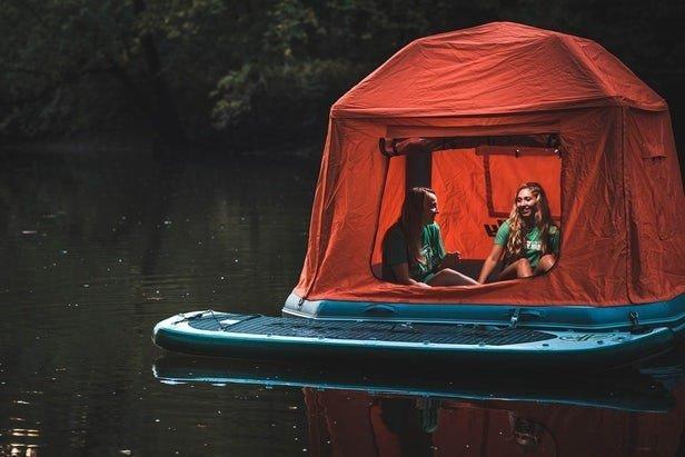 5. Палатка-плот идеи, комфорт, отдых, палатка, природа, путешествие