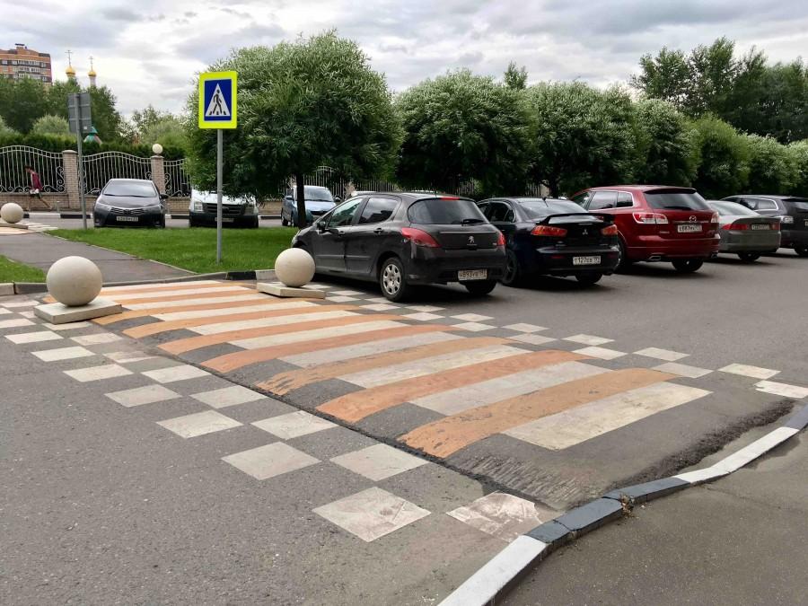 «Зебры» пешеходных переходов хотят сделать рельефными