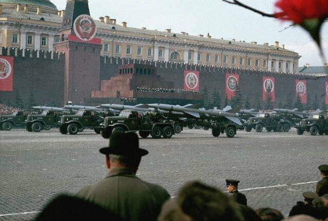 Военный парад на Красной площади, 1966 СССР, история, фото