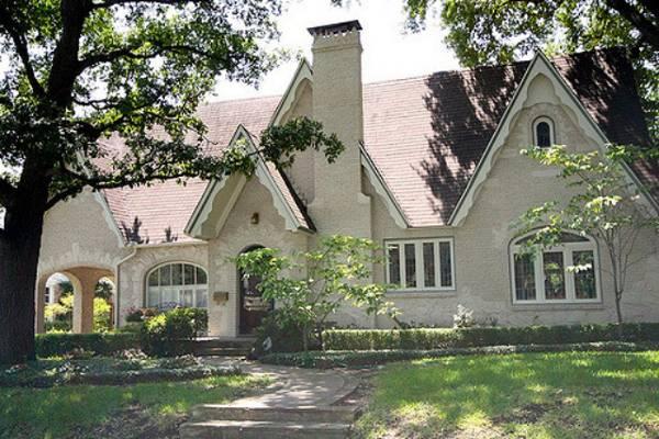 красивый одноэтажный дом с большими окнами фото, фото 98