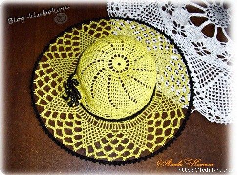 схемы летних ажурных шляп вязание крючком обсуждение на