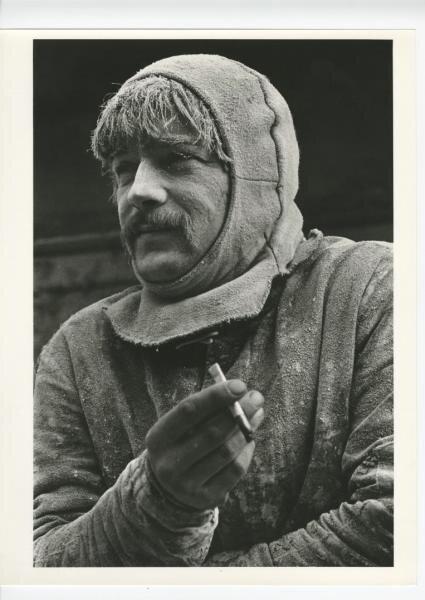 Портрет строителя Виктор Ахломов, 1975 год, МАММ/МДФ.