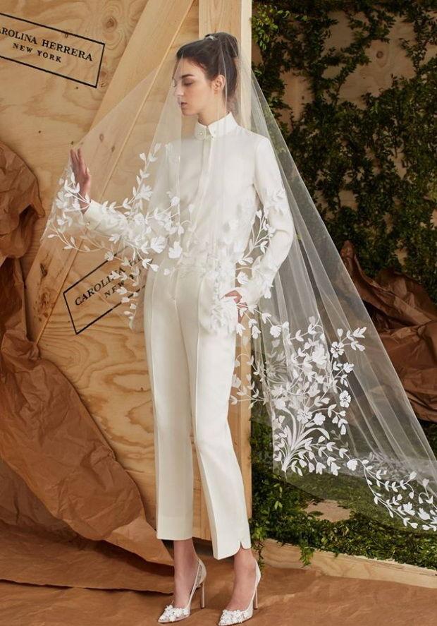 ТОП-7 тенденций свадебной моды 2018 года: от съемных рукавов до черного цвета