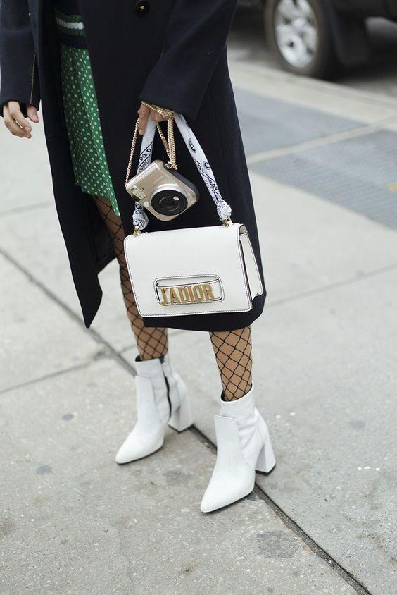 5 модных способов носить белый цвет осенью лучшее, мода, одежда