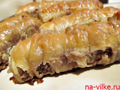 Восточные сладости – турецкая паклава