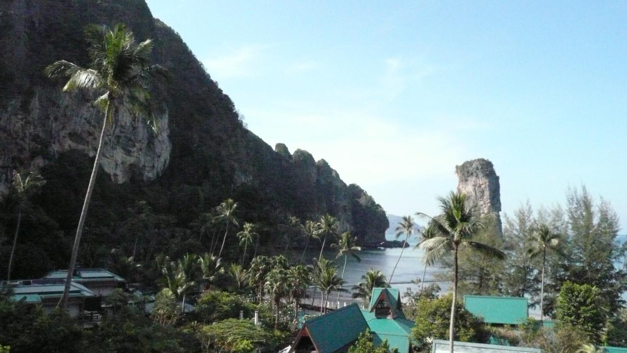 Таиланд. Залив Пай Плонг. Провинция Краби.