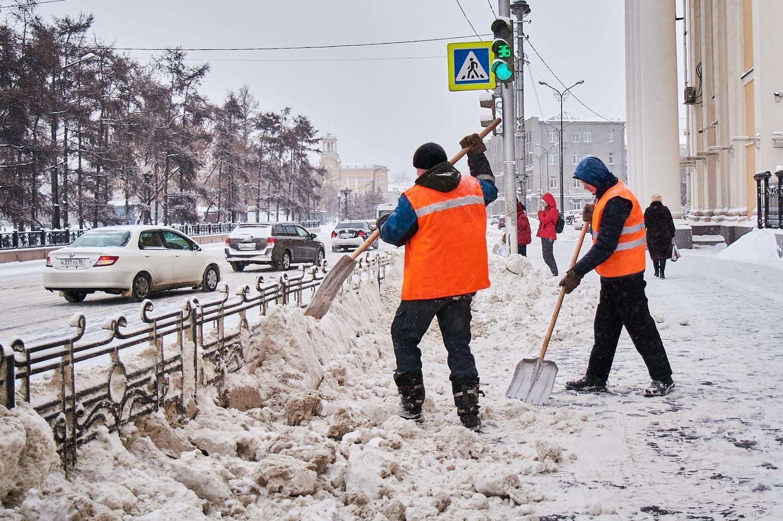 Иркутск снег картинки