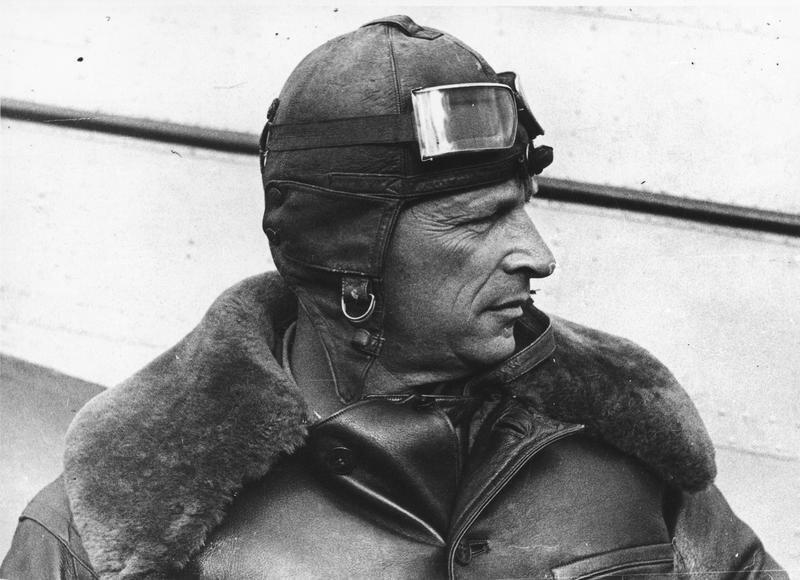 Летчик-испытатель Михаил Громов Иван Шагин, 1937 год, МАММ/МДФ.