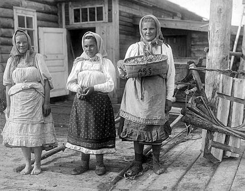 старые русские бабы фото - 8