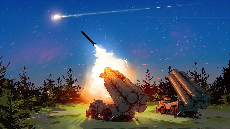 Новейший российский комплекс ПВО С-500 провел боевые стрельбы на полигоне Капустин Яр Армия
